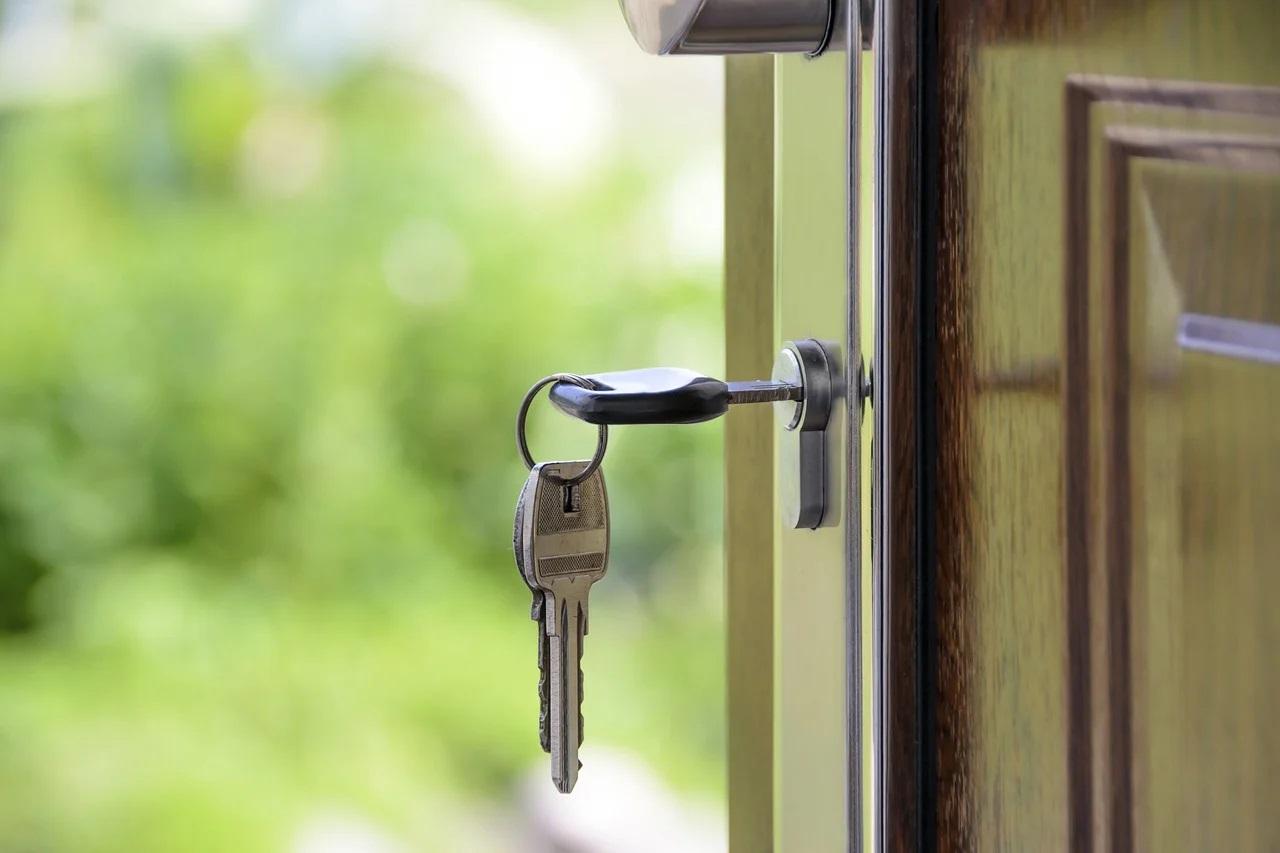 Klíče od vchodu