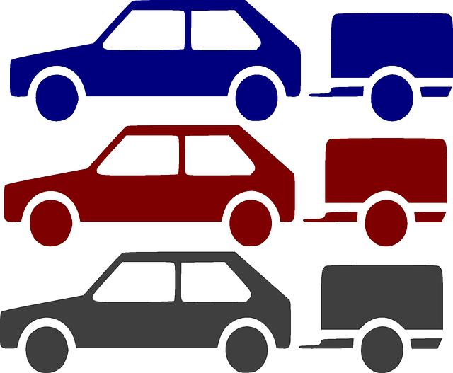 přívěsy aut