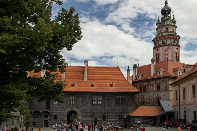 kostel v českém krumlově