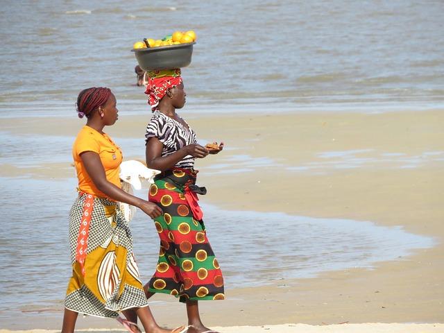obyvatelky mosambiku
